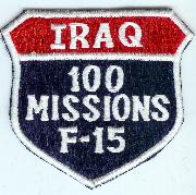 F-15C 100 Missions (Iraq) Shield