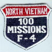 F-4 100 Missions (N. Viet) Shield