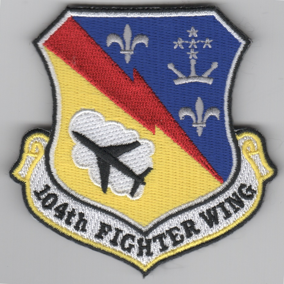 104 Fighter Wing Crest