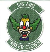 106th ARS Tanker Clown Patch