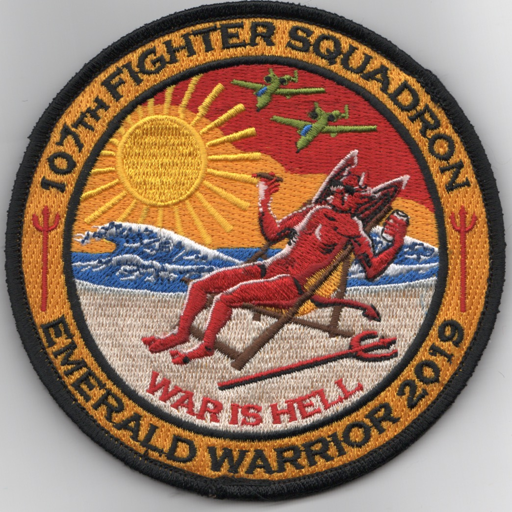 107FS 2019 'Emerald Warrior' Patch