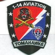 1-14 Tomahawk Patch