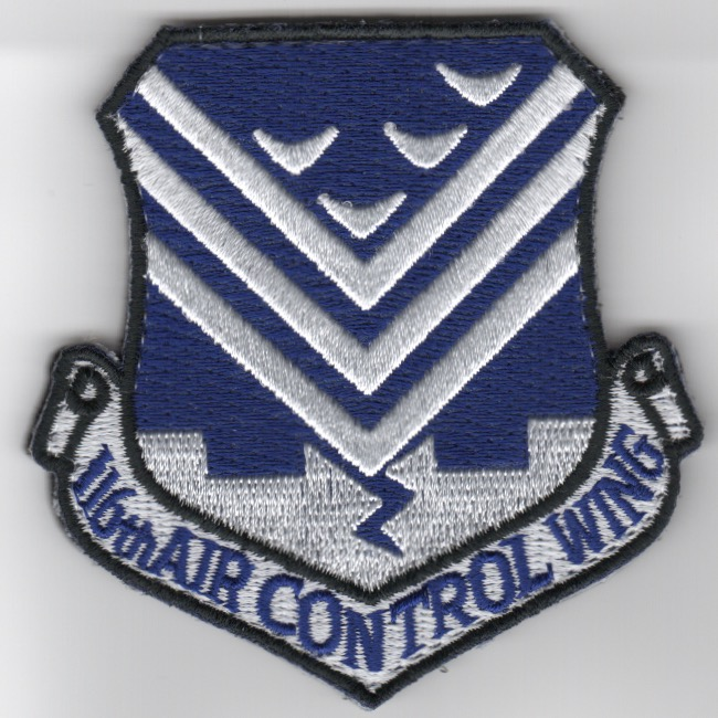 116th Air Control Wing Patch (Blue/3