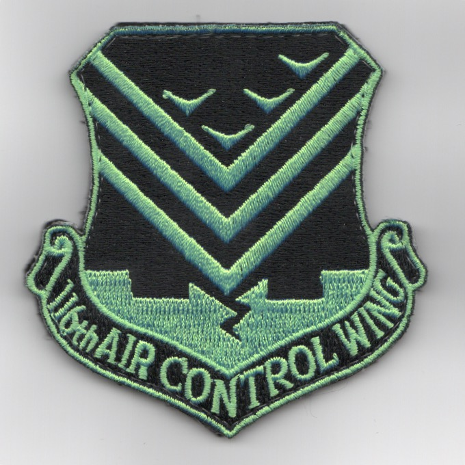 116th Air Control Wing Patch (Neon/3