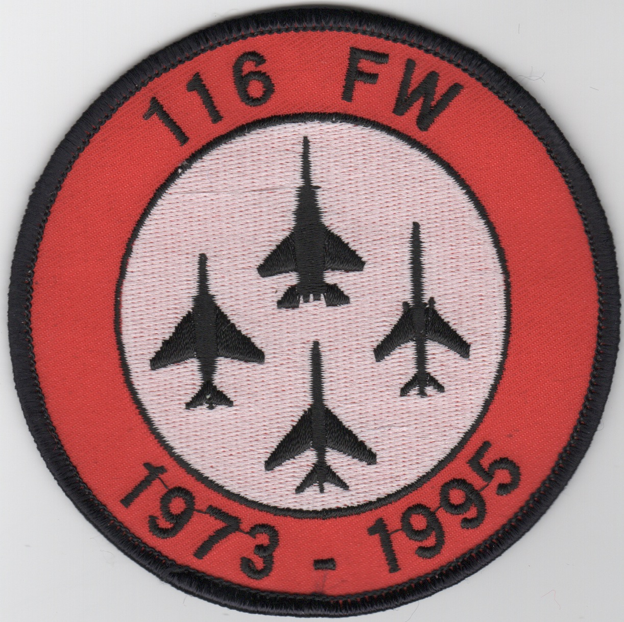 116FW 1973-1995 Fighter Decomm Patch (Original)