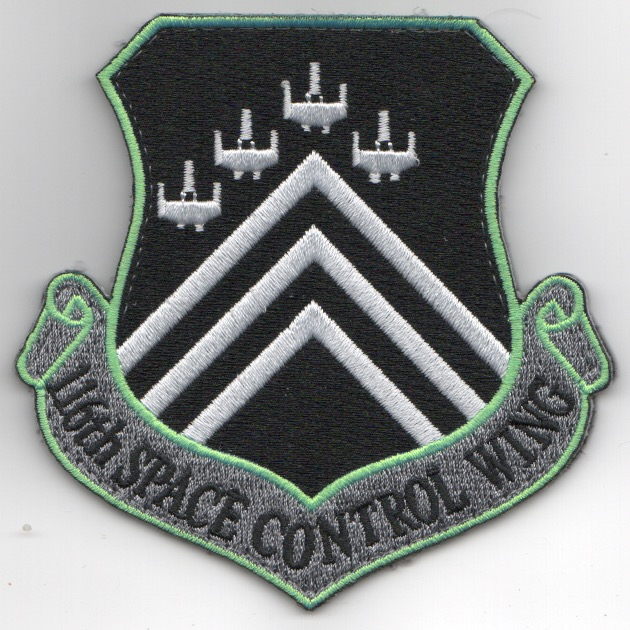 116th Space Control Wing Crest Patch (Neon)