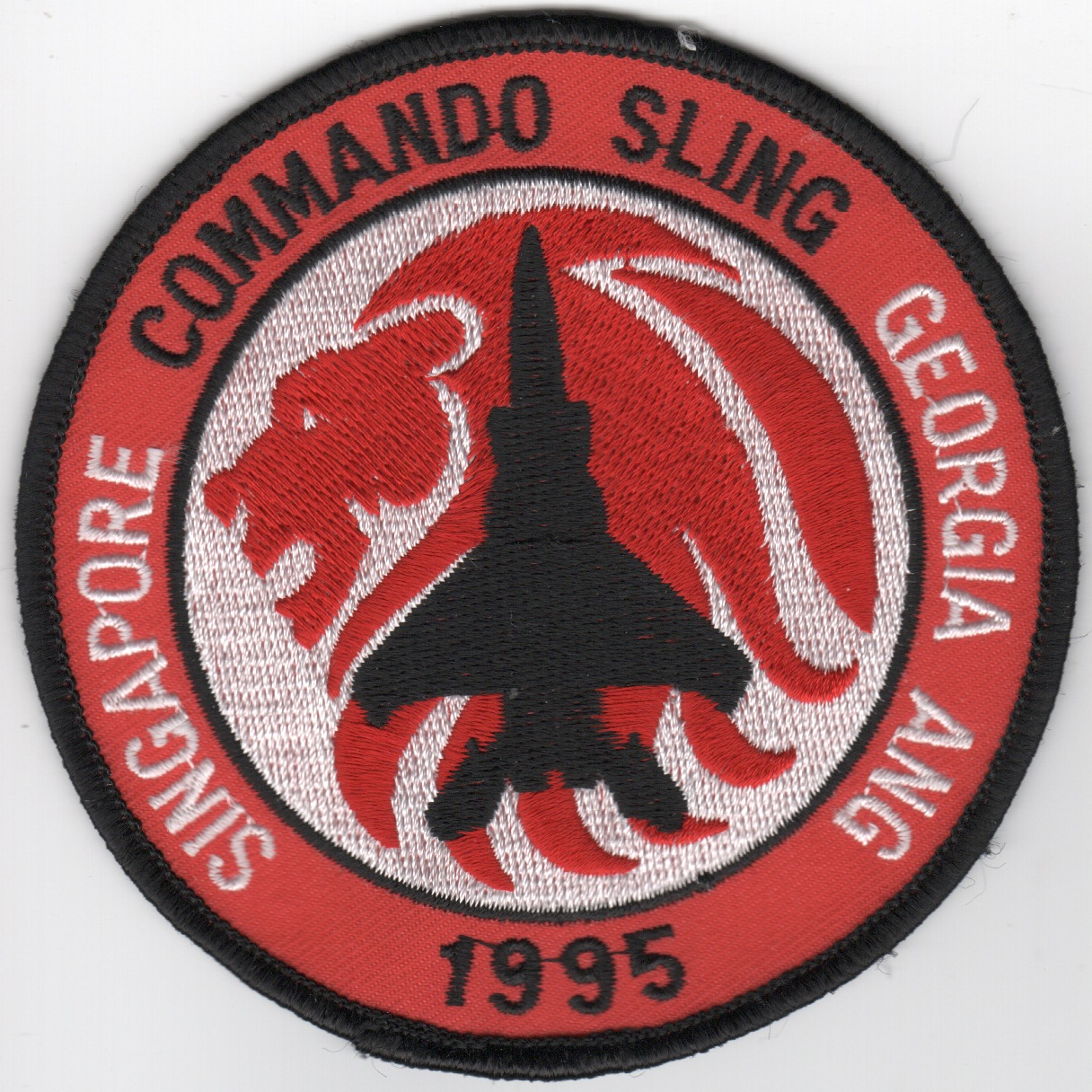 116TFW 1995 'Commando Sling' Patch (Original)