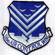 116th Air Control Wing Patch (Blue/4