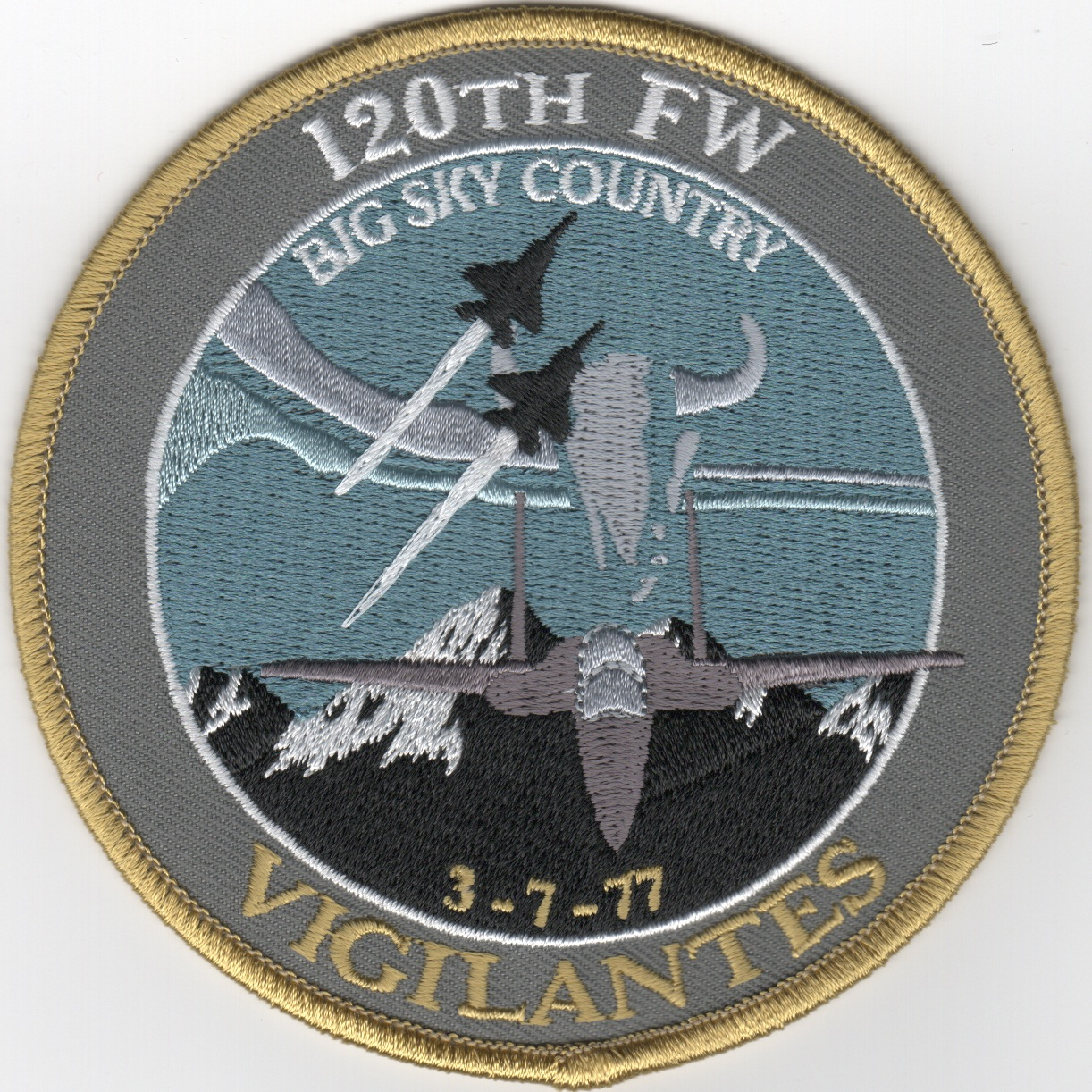 120FW 'BIG SKY COUNTRY' Patch