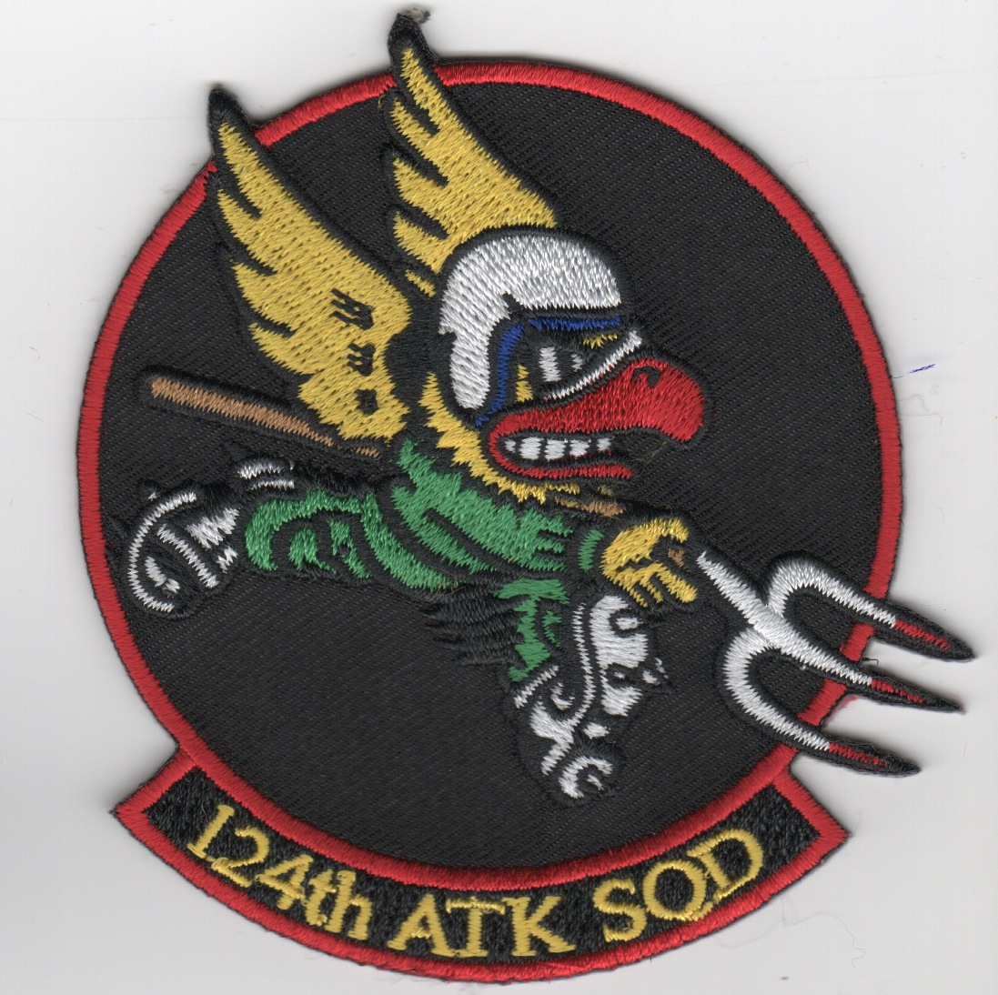 124th 'Attack' Squadron (Red/Blk)