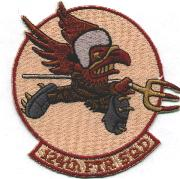 (F-16) 124th Fighter Squadron Patch (Des)