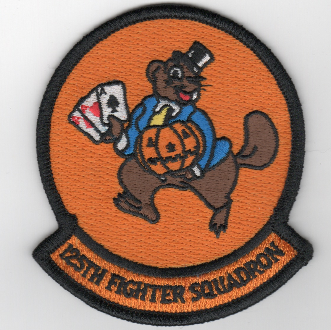 125FS 'HALLOWEEN' Patch (Orange)