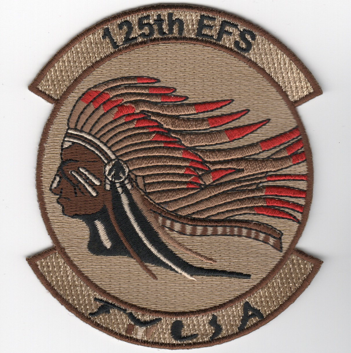 125EFS 'Indian Head' Det Patch (Des)