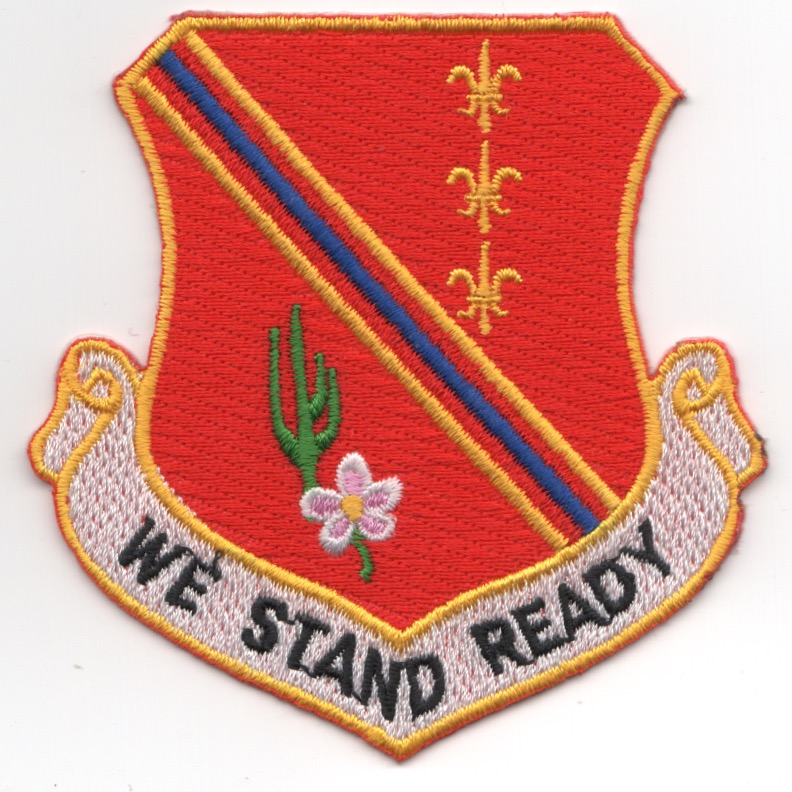 127FW 'READY' Crest Patch (Red)