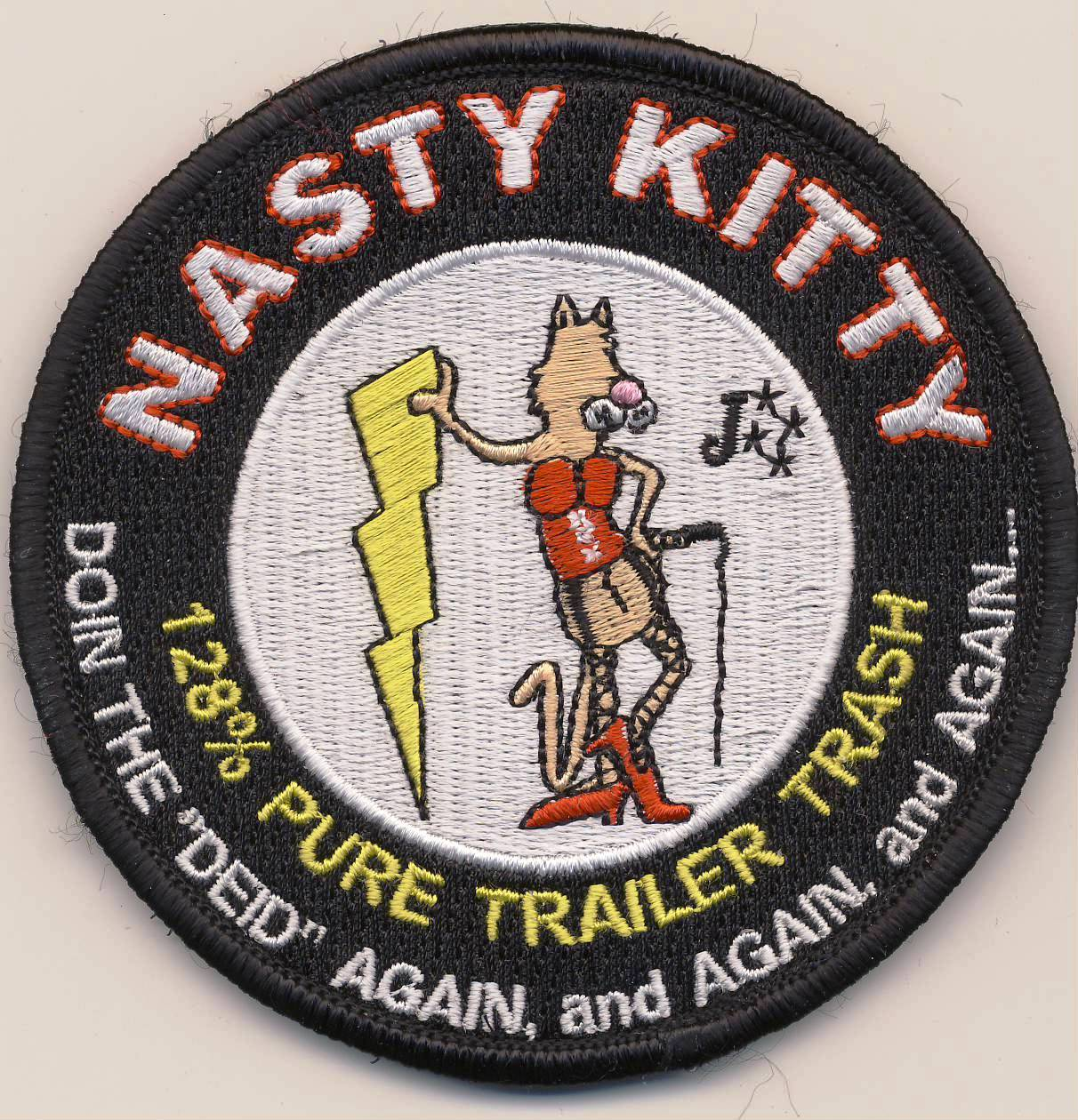 128 ACCS/GAANG 'Nasty Kitty' Patch