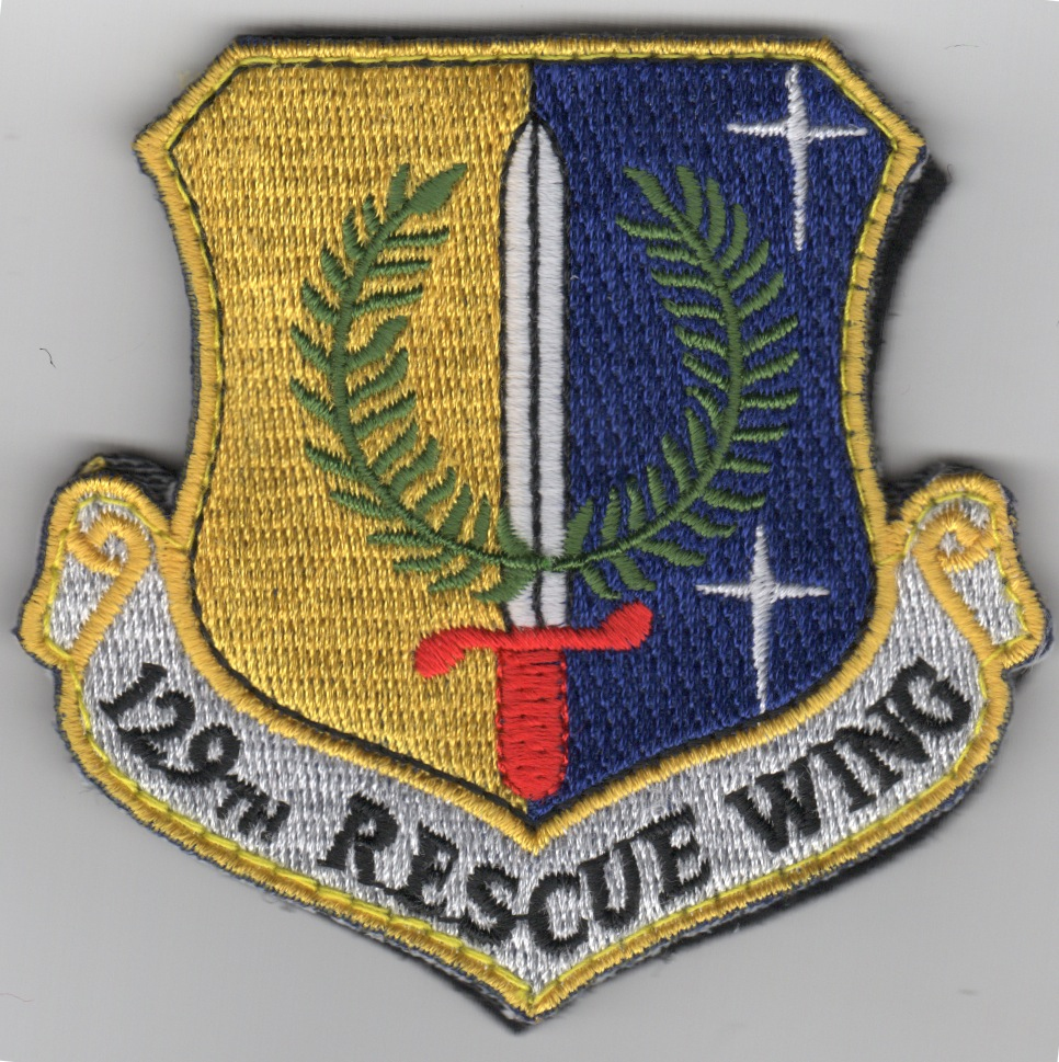 129th Rescue Wing Crest (Color)