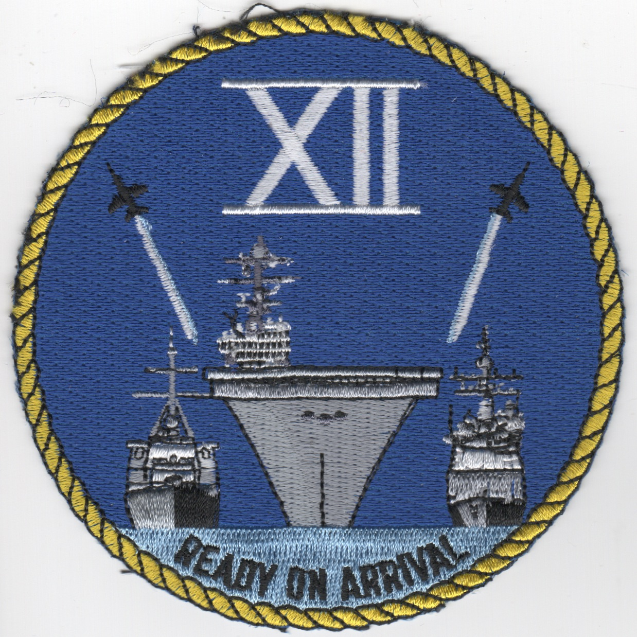 CSG TWELVE 'Ready On Arrival' Patch