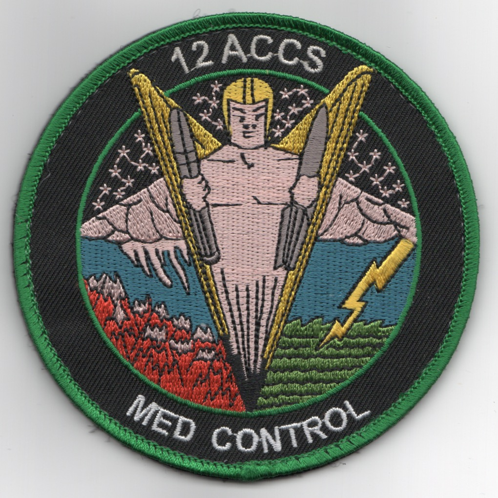 12ACCS 2019 'MED CONTROL' DET Patch
