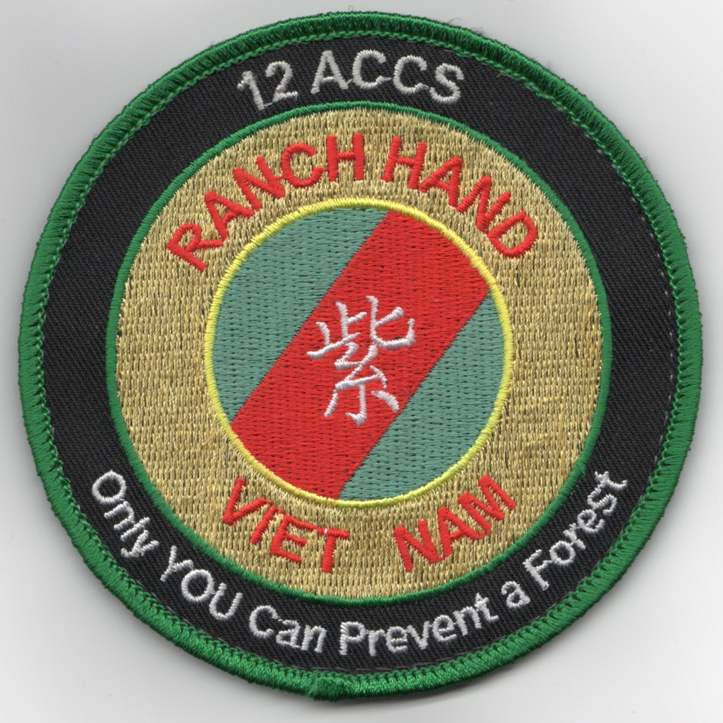 12ACCS 2019 'RANCH HAND' DET Patch