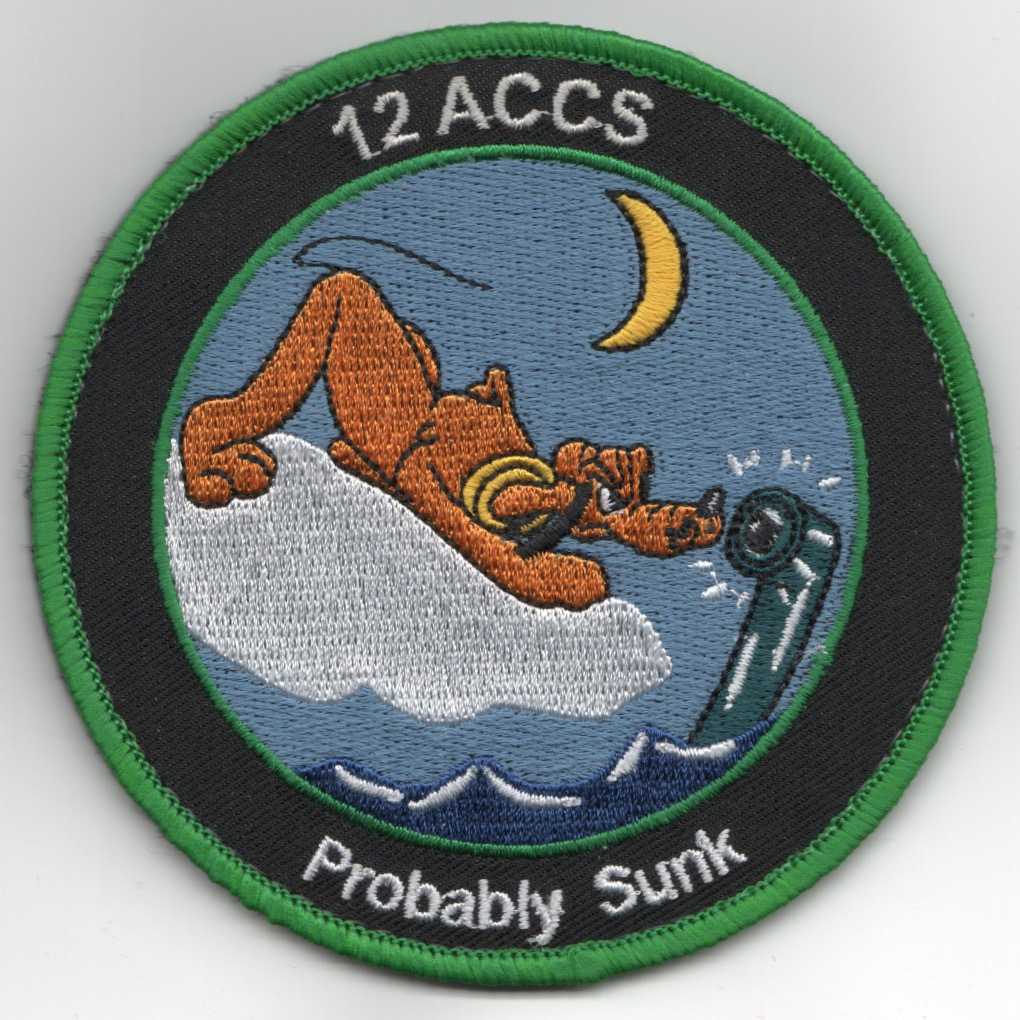 12ACCS 2019 'PROBABLY SUNK' DET Patch