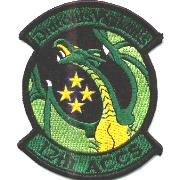 12 ACCS (New Style) Squadron Patch