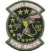 12 Expeditionary ACCS OEF/OIF Patch
