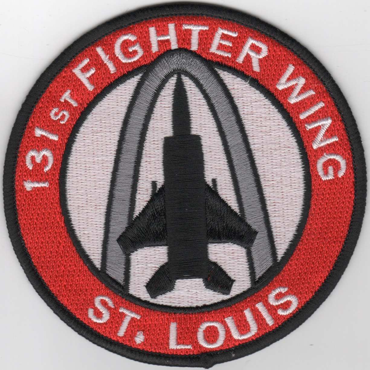 131FW 'St. Louis' Patch (Black F-15)