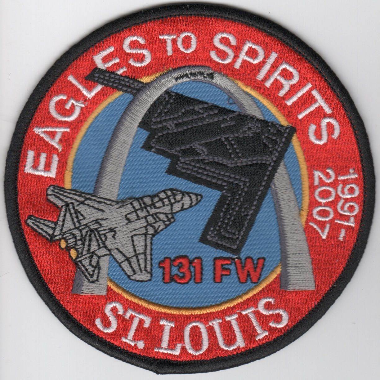 131FW 'Eagles-to-Spirits' Patch