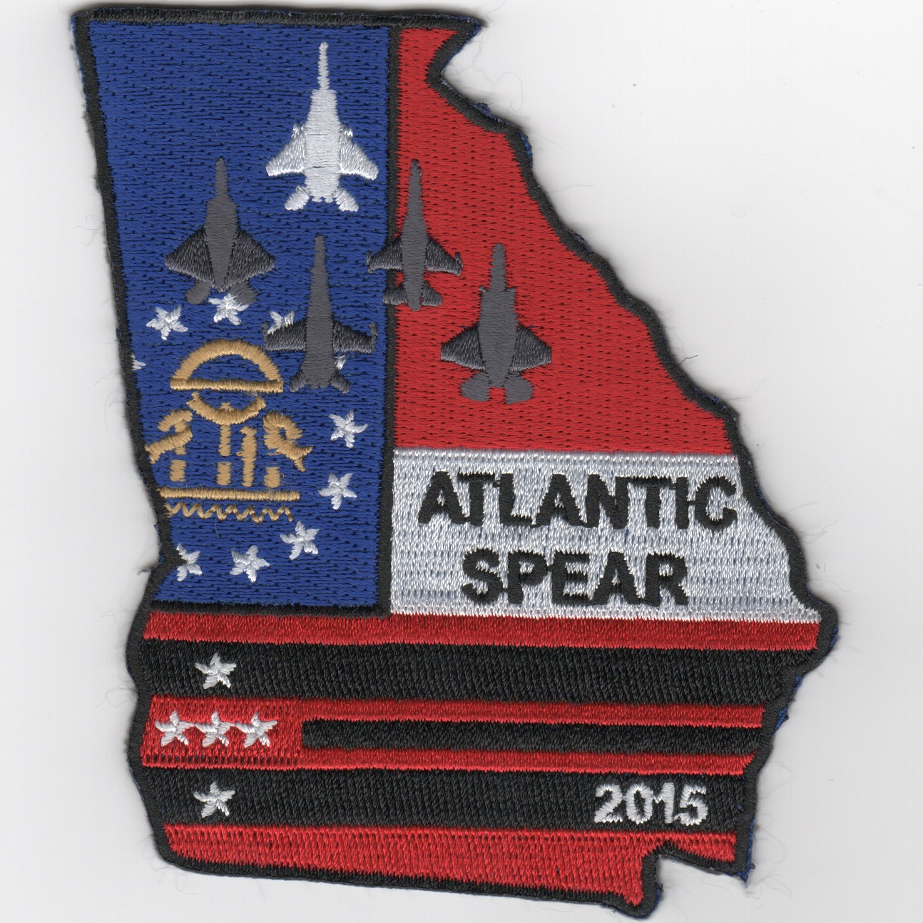 131FS 2015 Atlantic Spear Exercise Patch (GA)