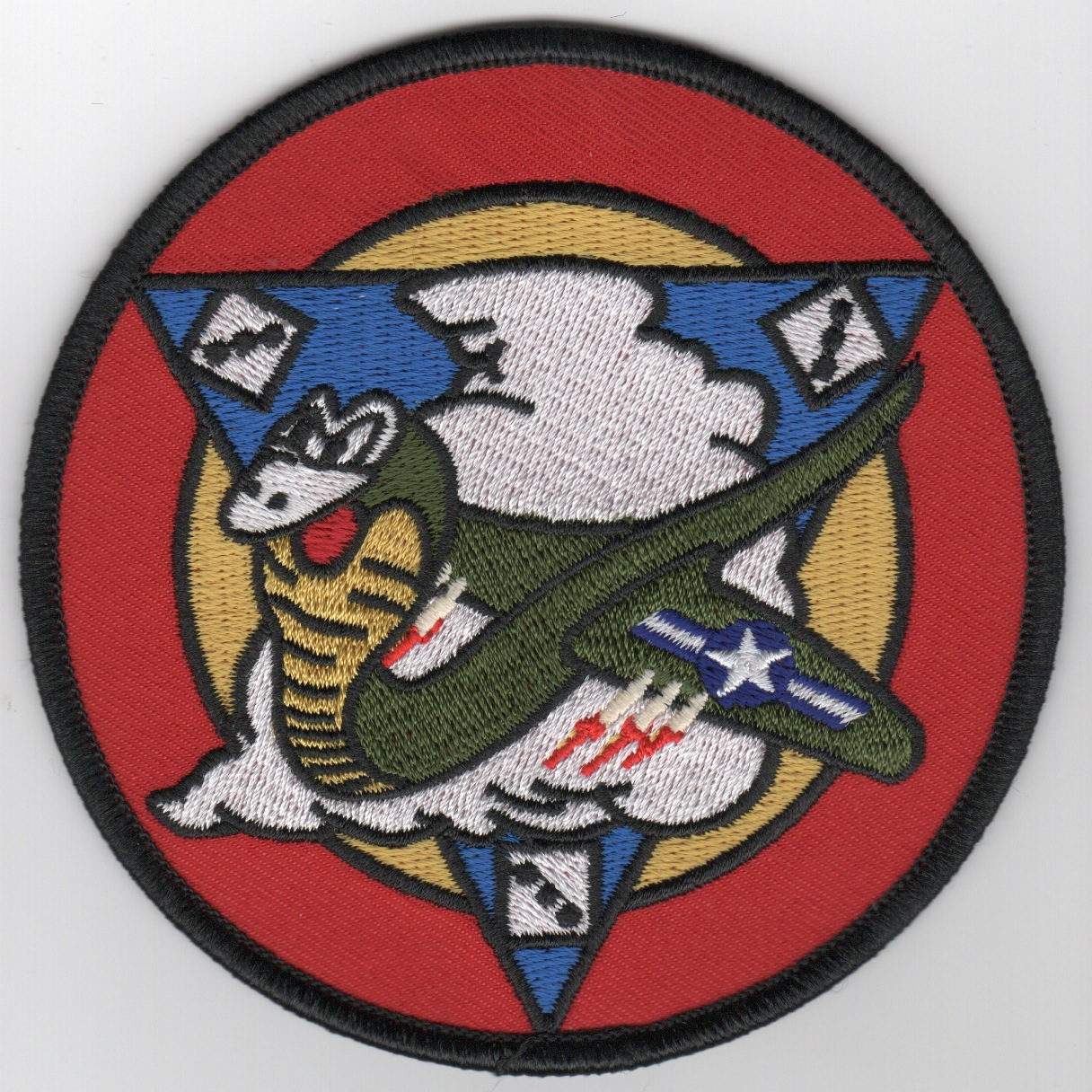 131FS 'Historical' Squadron Patch