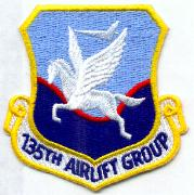 135th ALG Crest Patch