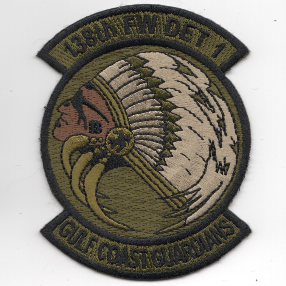 138FW Det-1 'Gulf Coast Guardians' Patch (OCP)