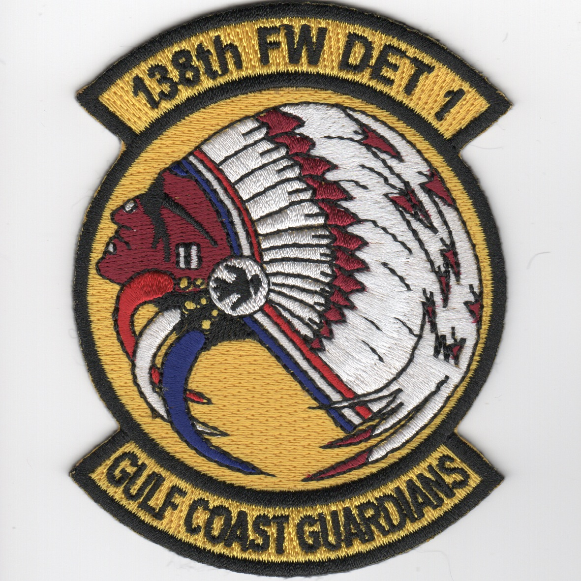 138FW Det-1 'Gulf Coast Guardians' Patch