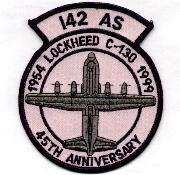 142nd ALS 45th Anniversary Patch