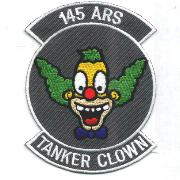 145th ARS Tanker Clown Patch