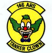 146th ARS Tanker Clown Patch