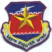 147th Fighter Wing Crest