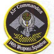 14th Weapons Squadron Patch