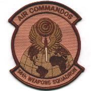 14th Weapons Squadron Patch (Desert)