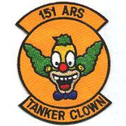 151st ARS Tanker Clown Patch