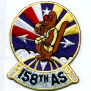 158th Airlift Squadron Patch