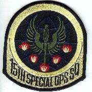 15 Special Ops Squadron Patch