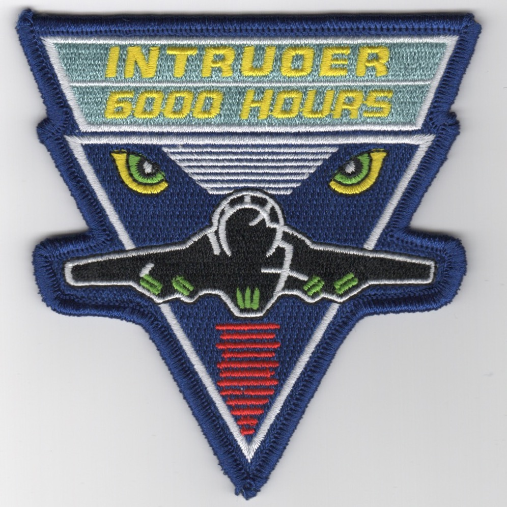 A-6 Intruder '6000-Hours' Patch