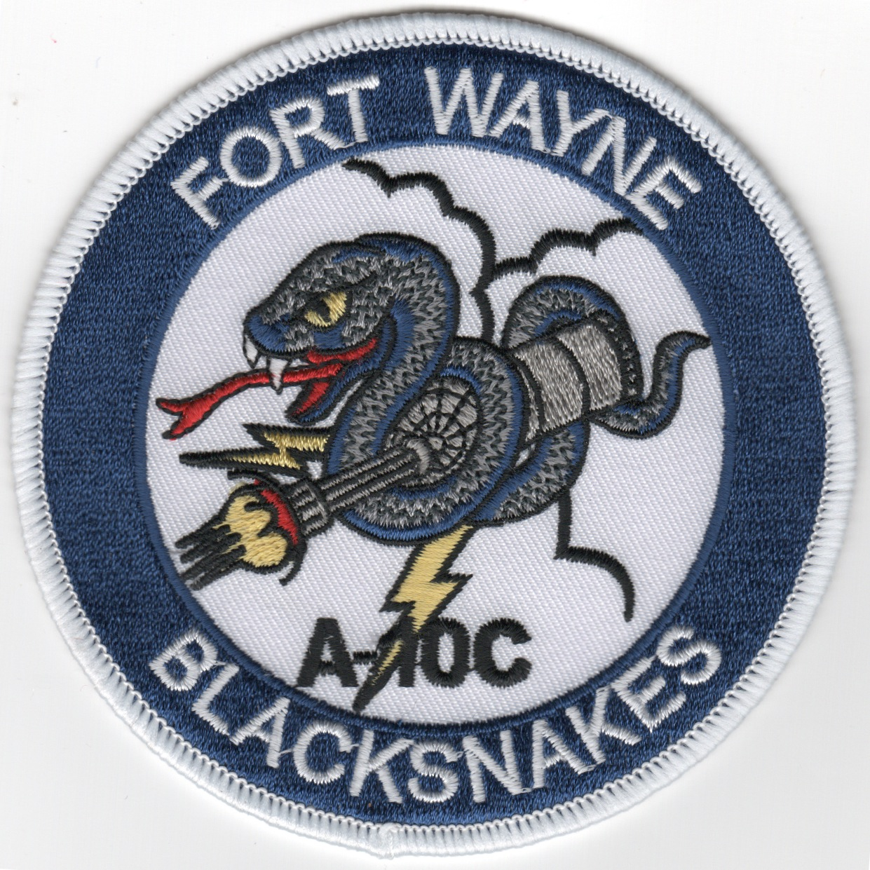 163FS 'Ft. Wayne/Blacksnakes' Patch