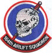 164th Airlift Squadron Patch