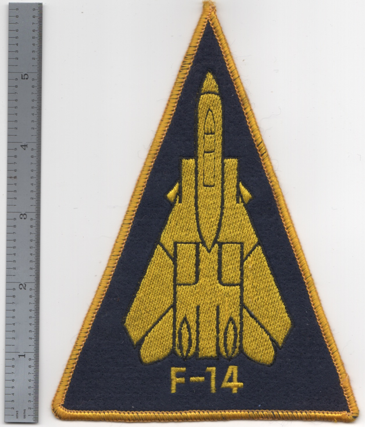 167) F-14 A/C Tri Patch (Large)