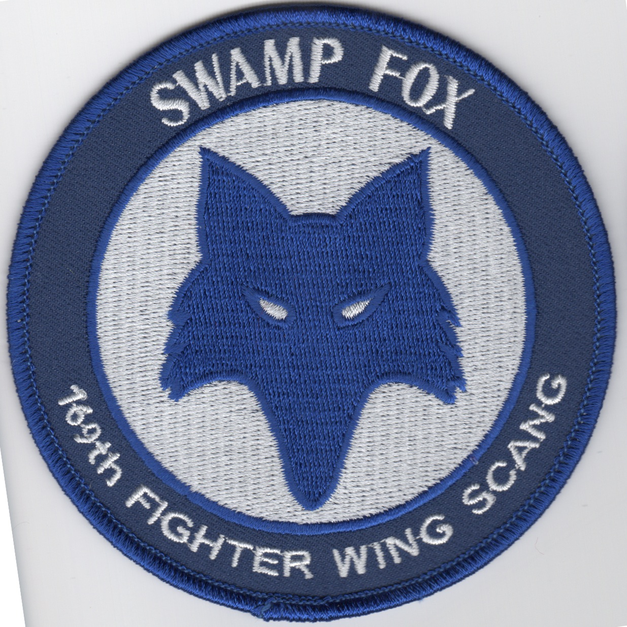169FW 'Swamp Fox' (Blue Foxhead)