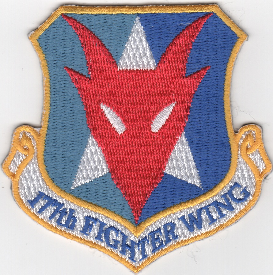 177FW 'Red Devil' Crest Patch