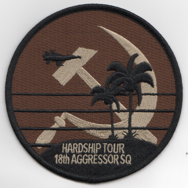 18th Aggressor 'HARDSHIP TOUR' Patch (DESERT)