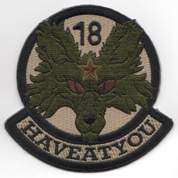 18th Aggressor 'Have At You' Patch (OCP)
